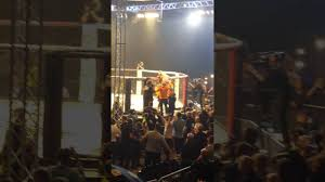 paddy the baddy pimblett after winning cage warriors featherweight