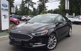 ford fusion 2017 ford fusion platinum awd ecoboost leather review island