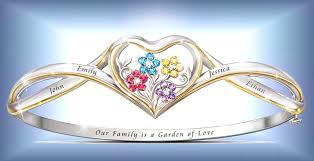 custom birthstone bracelets faith and family jewelry