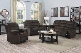 pc candice brown reclining sofa u0026 loveseat set