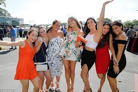 post melbourne cup celebrations begin as punters let down their