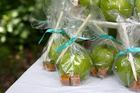 caramel apple party favors eats and beats throwing a picnic baby shower and the easiest