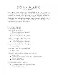 hair stylist resume template pleasing hair stylist resume template on salon and sle free