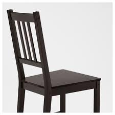 dining room chairs ikea stefan chair brown black ikea