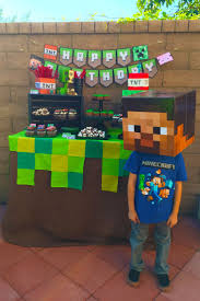 89 best minecraft birthday party images on pinterest birthday