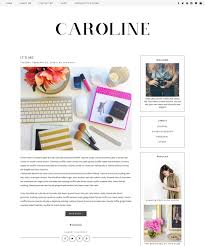 Design Blogger by New Premade Blogger Template Clean Blog Design Black
