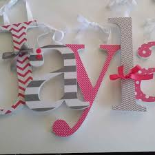 with large decorative letters for walls metal tag letter wall
