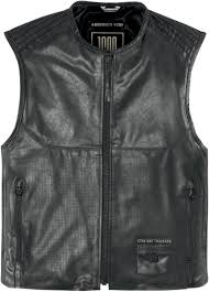 mens leather motorcycle vest icon 1000 associate leather motorcycle vest