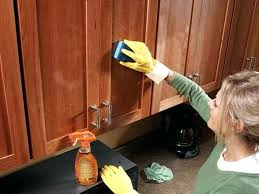 how to clean sticky wood kitchen cabinets cleaning kitchen wood cabinets perfect plain how to clean kitchen