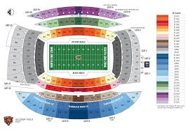 Grand Arena Grand West Floor Plan by Chicago Bears Seating Chart