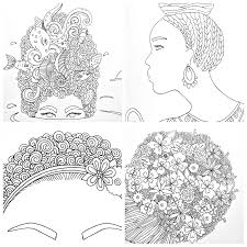 i love my hair a coloring book of braids coils and doodle dos