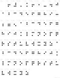 braille normal font typography pinterest fonts braille