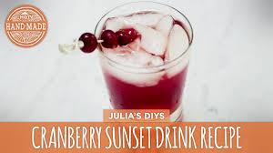 ina garten pomegranate cosmo hgtv cranberry sunset drink recipe hgtv handmade food non