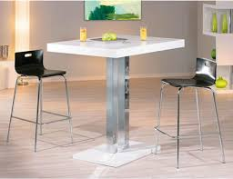 square glass pub table glass and chrome stainless steel tall poseur kitchen bar tables
