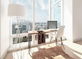 aménagement bureau à domicile domicile deco contemporaine