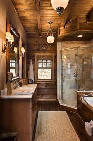 log home bathroom ideas best rustic cabin bathroom ideas on log home design 3