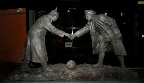 this day in history 1914 the christmas truce of world war i