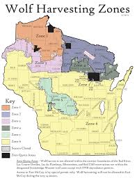 Wisconsin Dnr Lake Maps by Dnr To Close Another Wolf Zone
