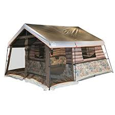 cabin tent igloo log cabin lodge tent and screen porch sports