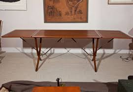 hans wegner drop leaf dining table model at 304 for sale at 1stdibs