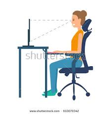 Chairs For Posture Support Ergonomic Stock Images Royalty Free Images U0026 Vectors Shutterstock