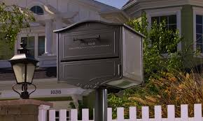 residential mailboxes elegant mailboxes architectural mailboxes