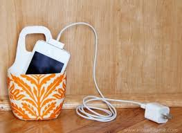 diy phone charger craft of the day a diy cell phone charging station huffpost