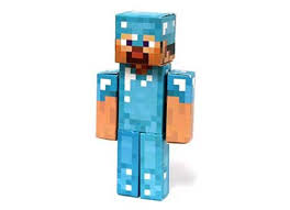 diamond steve top 24 minecraft paper sets for mine crafty notes