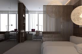 luxurious apartment design with dark interior style roohome