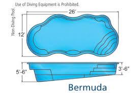 swimming pool sizes medium pool sizes viking inground fiberglass swimming pool