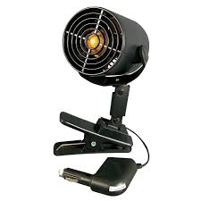 12 volt clip on fan 12v tornado fan roadpro rpsc 857 fans cing world