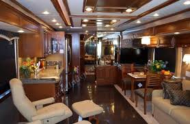 motor home interior 2011 newmar mountain aire 4333 luxury motorhome interior front to