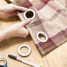 Large Drapery Rings Best 25 Diy Eyelet Curtains Ideas On Pinterest Small Eyelet