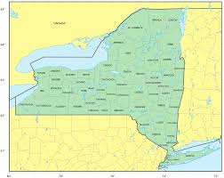 Albany New York Map by Counties Map Of New York U2022 Mapsof Net