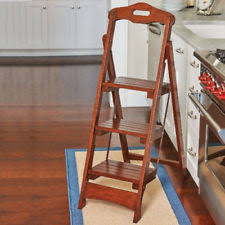Ikea Stepping Stool Ikea Bekvam Step Stool Solid Wood Kitchen Wooden Ladders Home Shop