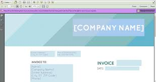 Free Email Invoice Template Free New Pdf Invoice Templates Invoiceberry Blog