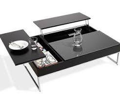 black coffee table with storage square storage coffee table from boconcept