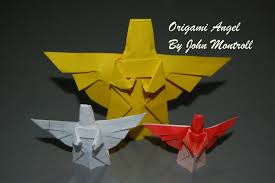 origami christmas angel how to fold an origami angel origami