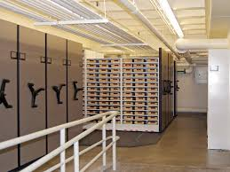 deed book storage on high density mobile shelving