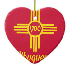 albuquerque new mexico ornaments keepsake ornaments zazzle