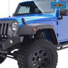 jeep fender flares jk wide pocket black front rear fender flares 07 17 jeep wrangler jk
