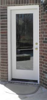 Flush Exterior Door Flush Glazed Glass Frameless Fiberglass Exterior Doors