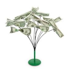metal money tree holder bendable branches to hold or gift