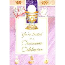 communion invitation communion invitations the catholic company