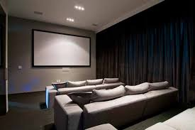 Minimalist Home Design Luxury Home In California Nightingale Home Theatre Design