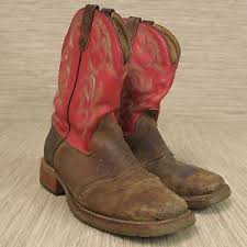 s boots size 12 wide h dh3556 wide square roper boot s size 12 b embroidered