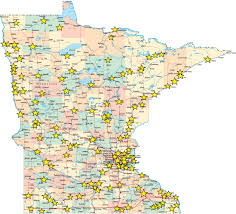 Minnesota State Map by Minnesota Ranked 3rd Best State In The Nation In New Study From