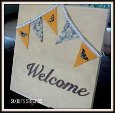 all the joy interchangable welcome sign
