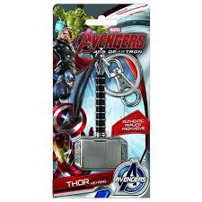 marvel keychains avengers 2 age of ultron movie thor hammer