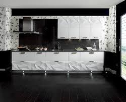 backsplash for black and white kitchen black and white kitchen backsplash 2 home design ideas